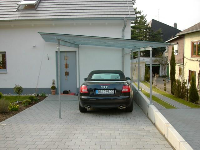Vordächer/Carport - TH. Trunzer - Stahl- und Metallbau, Schlosserei GmbH